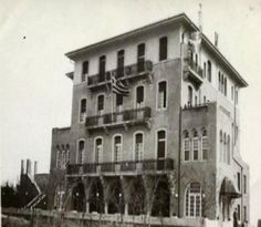 """Pentelikon"" hotel in Kifissia, Athens . Constraction 1924. Inauguration  1927. Shuts down 2015. 88 years of operation."