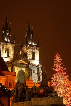 Prague Christmas Square
