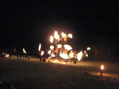 Fire Show Koh Samet - one of the best places to find one!