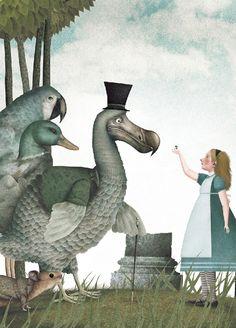 Iban Barrenetxea.Додо (англ. Dodo) — птица, которую Алиса обнаруживает на берегу…