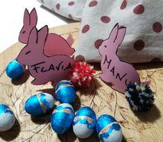 #handmadeeaster ritorna la creatività di #TheCreativeFactory Segnaposto e biglietti d'auguri Pasqua da stampare | Genitorialmente