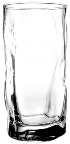 Amazon.com: Bormioli Rocco Sorgente Cooler Glasses, Set of 4, Gift Boxed: Drinking Glasses: Kitchen & Dining