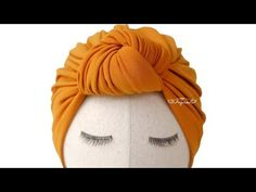 Learn how to make a turban with this turban hat tutorial. This turban hat DIY is my favorite. Be sure to add this stylish turban hat to your collection! Baby Turban, Turban Hut, Turban Headband Tutorial, Hat Tutorial, Knot Headband, How To Make Turban, Baby Knot Hat, Crochet Hat For Beginners, Hat Patterns To Sew