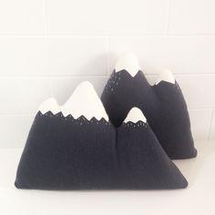 Talpa Things - Mountain cushion (two designs)