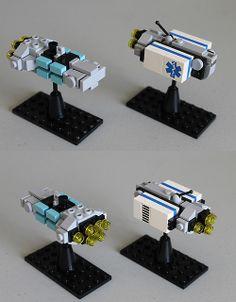 Centaur Freight-courier & Carabao Freighter by [Soren] Lego Cars, Lego Plane, Lego Robot, Avion Lego, Nave Lego, Micro Lego, Lego Ship, Lego Spaceship, Lego Construction
