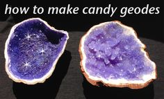 Rock Candy Edible Geode HOW TO cook that Rock Candy Recipe Ann Reardon