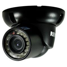 $58 ONLY! Mini Turret #SurveillanceCamera with 100-Feet Night Vision (Black)