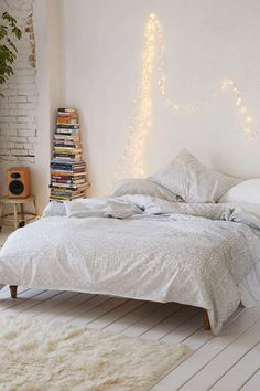 Battery Powered LED Fairy Lights (33 ft.) | She Needs This