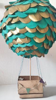Aire caliente globo centro de mesa-Stand solo aire caliente