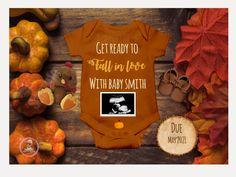 Thanksgiving Pregnancy Announcement, Cute Pregnancy Announcement, Pregnancy Announcements, Ivf Pregnancy, Fall Gender Reveal, Baby Gender Reveal Party, Baby Shower Fall, Fall Baby, Little Pumpkin Shower