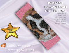 Peyote Pattern  Beading Pattern  Dog  St by BeadingPatterns2013