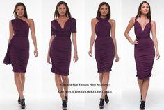 Convertible Infinity Wrap Dress