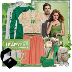 style inspiration minus the leprechaun shoes Leap Year Movie, Librarian Style, Pretty Outfits, Pretty Clothes, Love Movie, Beautiful Women, Style Inspiration, My Style, Stylish