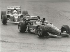 #27 JEAN ALESI FERRARI 412 WILLIAMS FW16 NIGEL MANSELL 1994 F1 PRESS PHOTOGRAPH