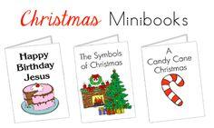 Printable Christmas Minibooks to help celebrate the season.