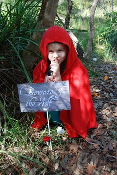 """Photo 1 of 46: Little Red Riding Hood Party / Birthday """"Bella's Little Red Riding Hood Party"""" 