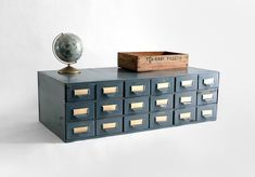 Come on--who *wouldn't* love to have their very own card catalog?