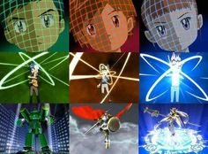 Evolution Digimon Tamers