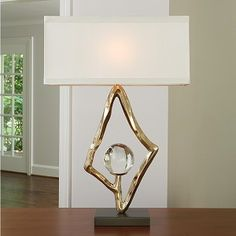 Abstract Lamp - Brass