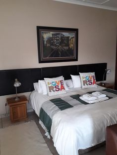 Sontyger Guesthouse / B&B / Self Catering 2 Begonia Rd, Ridgeworth, Bellville Call +27 (0) 21 919 0711 Email reception@sontyger.co.za Sontyger is close to the airport & popular Cape Town attractions. It offers bedrooms with en-suites as well as 4 self-catering units. Sontyger offers a breakfast inclusive with the accommodation rate. AA rating / highly recommended. #bellville #guesthouse #accommodation #bedandbreakfast #selfcatering #pool #childfriendly #southaarica #capetown #central Cape Town Accommodation, Bed And Breakfast, South Africa, The Unit, Bedroom, House, Furniture, Home Decor, Decoration Home