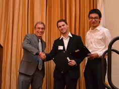 Dynamic Duo.  USC Davis School of Gerontology undergrads Brandon Glousman and Jung-Gi Min did not rest on their laurels after earning scholarships from the Summer Undergraduate Research Associates Program and the USC Provost's Undergraduate Research Fellowship. Instead, they went on to also win first prize in the life sciences division of USC's 15th Annual Undergraduate Symposium for Scholarly and Creative Work.