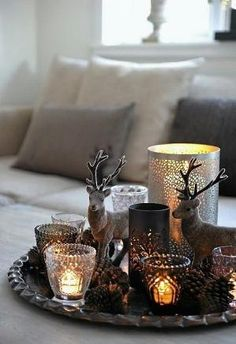 Pretty rustic Christmas decorations by LADY_VIOLA