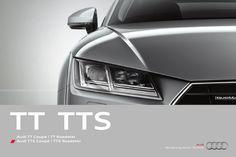 Audi TT -esite  TT Coupé, TT Roadster, TTS Coupé, TTS Roadster
