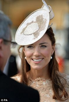 Work: The Duchess of Cambridge spent this morning at the launch of the UK bid for the Amer...