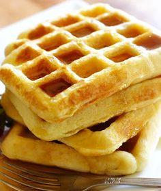 creativity through FOOD!: Homemade Waffles for 2