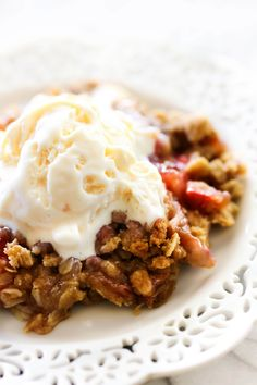 This Strawberry Rhubarb Crisp is full of flavor and texture! It receives rave reviews by all who try it. The crumb topping on top is perfection. This will be one of THE BEST crisps you ever try! Crisps are becoming one of my absolute favorite desserts! I love my peach crisp and apple crisp on …