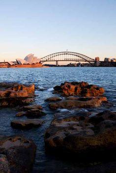 Sydney Harbour Bridge + Opera House