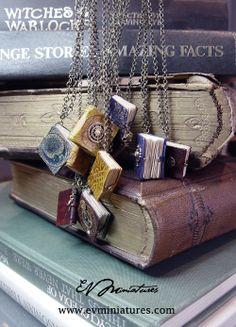 cute miniature books to wear