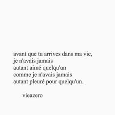 You had been my real love . Father Quotes, Poem Quotes, Sad Quotes, Words Quotes, Best Quotes, Poems, Sayings, French Words, French Quotes