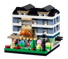 LEGO 40143 - Bricktober Bakery #LEGO #LEGOModular #Toysrus #Bricktober #Bricktober2015
