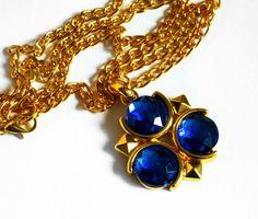 Zelda Zora's Sapphire necklace at https://www.etsy.com/listing/235165777/zoras-sapphire-necklace-resin-necklace