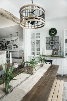 Farmhouse Breakfast Room. Farmhouse Breakfast Room. Farmhouse Breakfast Room. Farmhouse Breakfast Room #FarmhouseBreakfastRoom #Farmhouse #BreakfastRoom Home Bunch's Beautiful Homes of Instagram @household no.6