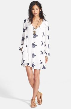 Free+People+'Emma's+Shift+Dress+available+at+#Nordstrom