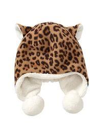 Pro Fleece cheetah print hat
