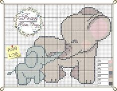 Easy Knit Baby Blanket, Crochet Baby Blanket Free Pattern, Knitted Baby Blankets, Beading Patterns, Knitting Patterns, Elephant Cross Stitch, Cross Stitch Fruit, Plastic Canvas Crafts, Counted Cross Stitch Patterns