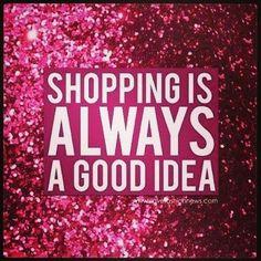 I do luv to shop...
