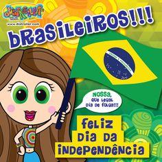 Nossa!!! Que legal, día de folga !!! Independencia Brasil