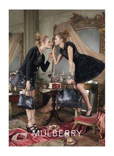 Mulberry Fall 2010 Campaign | Abbey Lee Kershaw & Hanne Gaby Odiele by Steven Meisel