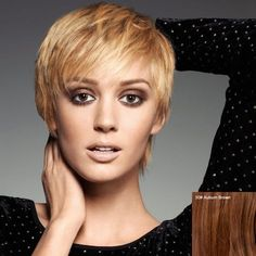 Virile Short Boy Cut Human Hair Side Bang Fluffy Wig For Women #>=#>=#>=#>=#> Click on the pin to check out discount price, color, size, shipping, etc. Save and like it!