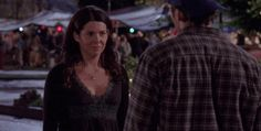 """When Lorelai learned that Luke single-handedly made Rory's going away party happen and they reunited with a romantic kiss. 