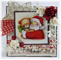 """Whimsy Stamps Crissy Armstrong """"Holiday Wishes"""" prints"""