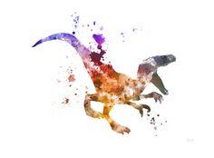 Hey, I found this really awesome Etsy listing at https://www.etsy.com/listing/233700973/raptor-velociraptor-art-print