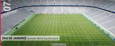 Rio De Janeiro Symbolic World Cup Structure Competition