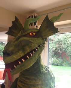 My Papier Mache Dragon for Halloween 2014 ;)