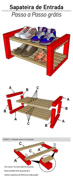 New furniture store design shoe racks Ideas Woodworking Projects That Sell, Woodworking Store, Woodworking Books, Woodworking Workbench, Diy Wood Projects, Woodworking Classes, Woodworking Videos, Shoe Rack Plans, Diy Rangement