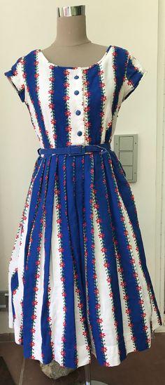 50er Jahre Kleid,Pettycoat,RocknRoll,Hillbilly,Elvis,Fifties von GoodOldTreasures auf Etsy